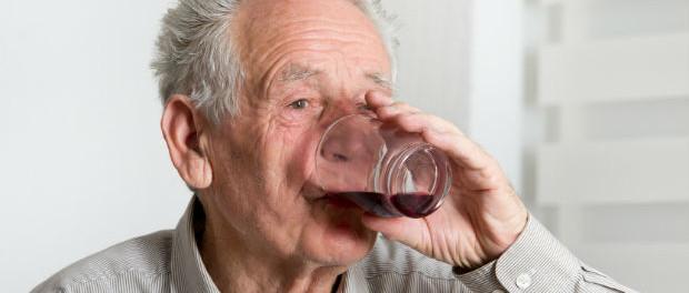 Alkohol im hohen Alter